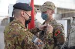 4. Consegna della NATO Medal a personale di altre nazioni del TAAC-W